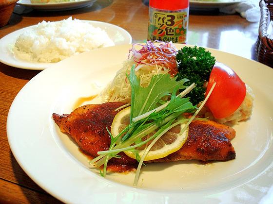 206【半蔵門】ゆったり洋食ランチ♪「カルーチェ」