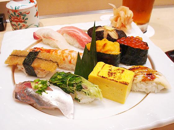310【新宿】繊細なお寿司がいただける♪「おたる政寿司」