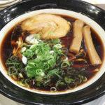 342【江坂】黒いスープの醤油ラーメン!大阪ブラック「金久右衛門(きんぐえもん)」