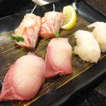 359【住吉】ゆったり美味しい回転寿司♪「にぎり長次郎」