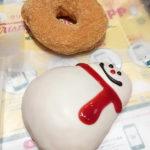 355【梅田】雪だるまが可愛い!「クリスピー・クリーム・ドーナツ」