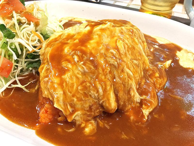 405【江坂】喫茶店でトロトロ卵のオムライス!「Kish(キッシュ)」