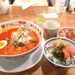 441【博多】2泊3日福岡旅行④!有名水炊き店の担々麺「博多担々麺 とり田」