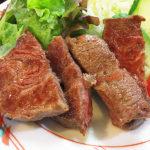 466【新宿御苑】昼も夜も美味しい牛肉が食べられる!「いわて門崎丑牧場」