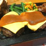 511【海老名】がっつりハンバーグとステーキのコンボ!「ハングリータイガー」