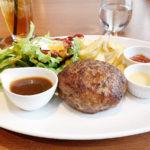 550【大阪・福島】ステーキが自慢の店でハンバーグランチ「Akami Modern Chop House(アカミ)」