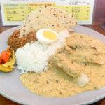 587【西武新宿】ミルキーな白身魚カレーとキーマのコンボが美味しい「FISH(フィッシュ)」