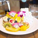 フルーツとクリームたっぷり!甘さ控えめが嬉しい「Hawaiian Pancake Factory(ハワイアンパンケーキファクトリー)」@新宿
