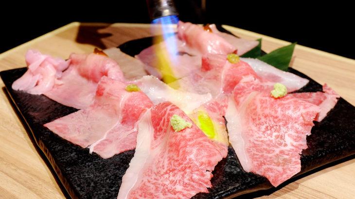 完全個室の居酒屋【肉と日本酒いぶり】で和牛と牛たんを味わう!@有楽町