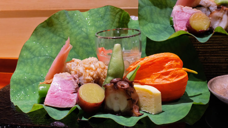 四季を感じる居心地の良い日本料理「銀座しのはら」@銀座