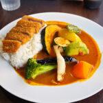 牛カツ&野菜たっぷりカレーとほっこりする空間【ベイリーフ】@赤坂見附