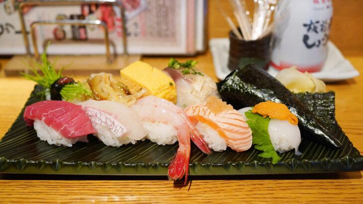 バラエティ豊かなお得寿司ランチ【板前寿司】@赤坂見附