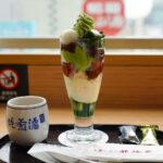 景色を楽しめる【茶寮都路里(つじり)】で贅沢抹茶パフェをいただく@東京