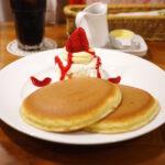 昔ながらの銅板焼き上げ&フルーツ【ホットケーキパーラー Fru-Full(フルフル)】@赤坂