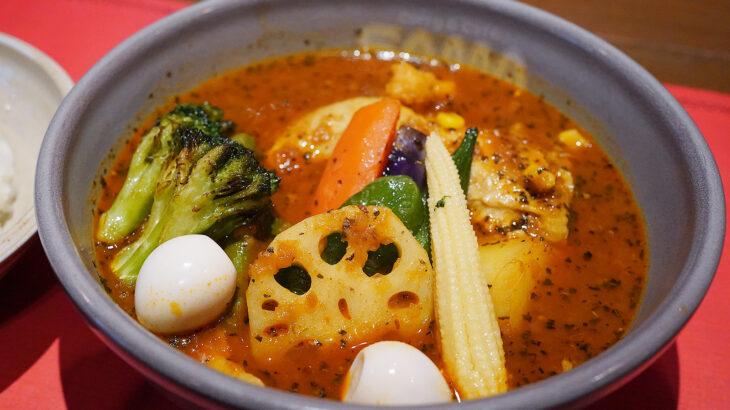 チキンがゴロッと入った美味しいスープカレー【Curry&Cafe SAMA 神田店】は組み合わせ自由@末広町