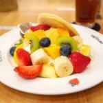【果実園】人気店のフルーツたっぷりパンケーキ@東京駅キッチンストリート