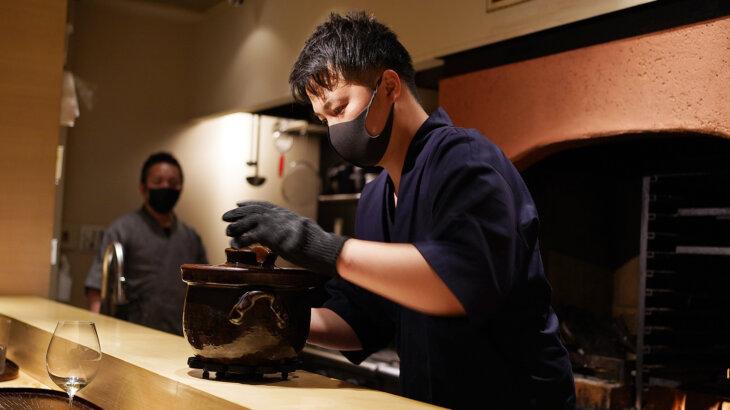 【鈴田式】薪焼きの香りが抜群!新ジャンルの幸せ和食@麻布十番